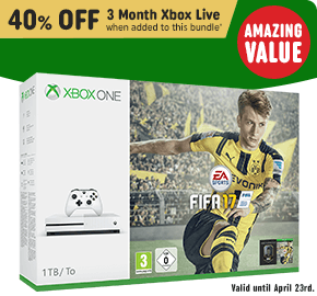 Xbox One S 1TB FIFA 17 Bundle
