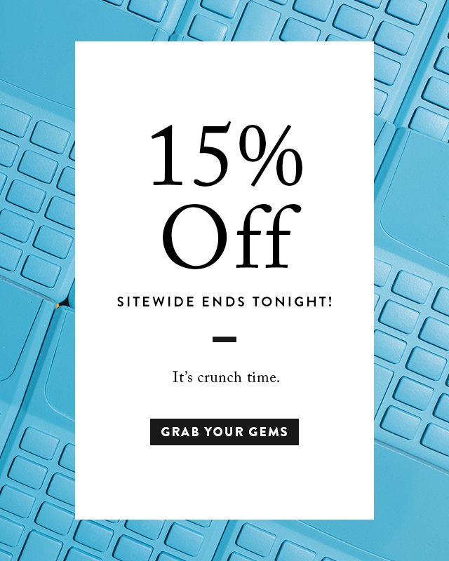 15% Off Tax Day Sale
