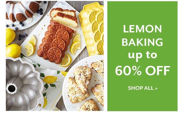 Lemon Baking up to 60% OFF