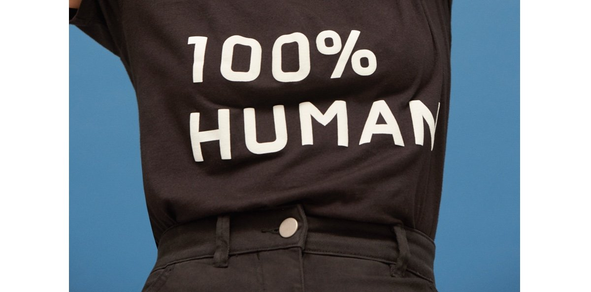 100% Human is back.