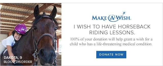 MAKE-A-WISH | DONATE NOW