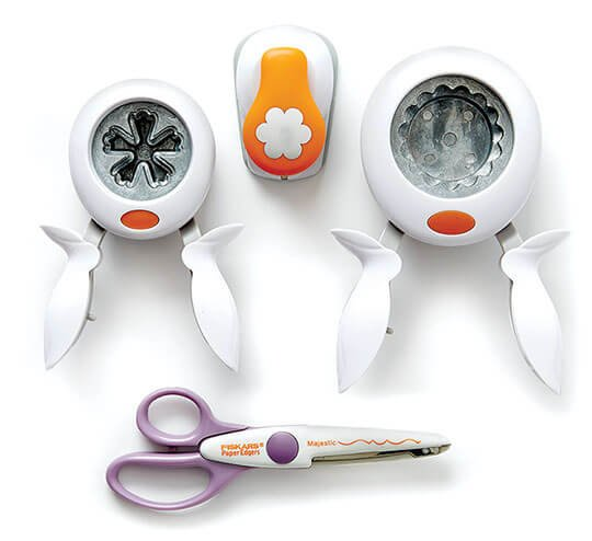 Fiskars Papercrafting Punches and Cutting Tools.