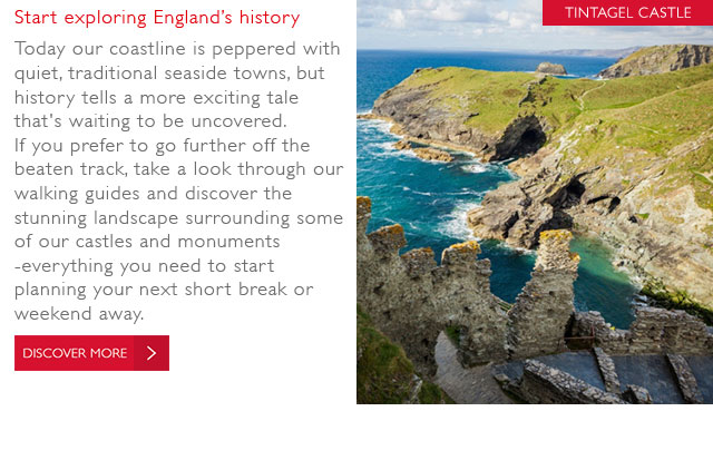 Start Exploring Englands History
