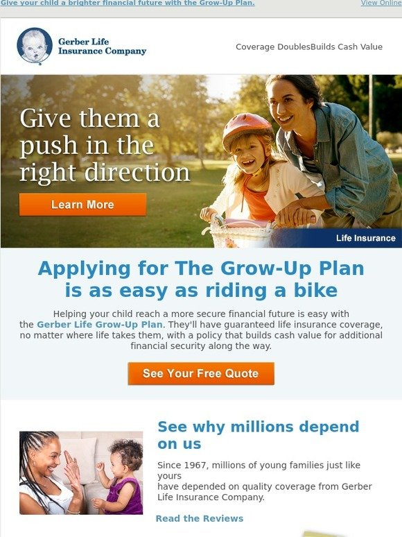 Gerber Life Insurance: A smarter path to a brighter future ...