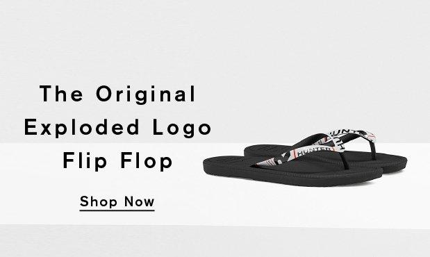 The Original Exploded Logo Flip Flop