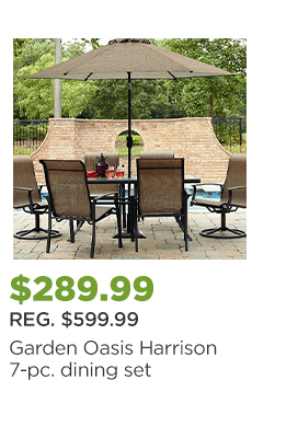 Sears notification you 39 re lucking out with special member deals starting tonight milled Garden oasis harrison 7 piece dining set