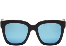 42156b66f9 Gentle Monster - Black   Blue Mirror Dreamer Hoff Sunglasses