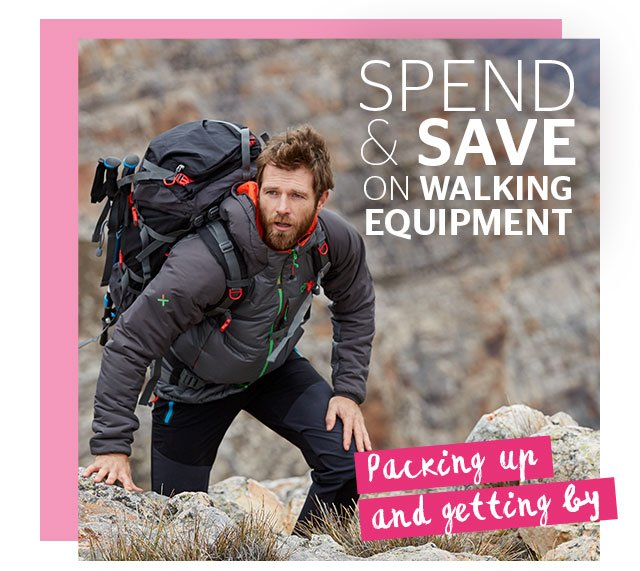 Spend and Save on Walking Equipment