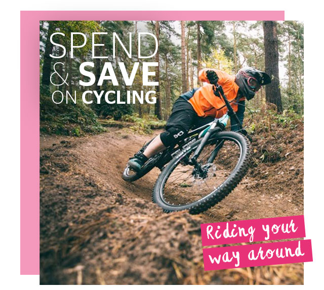 Spend and Save on Cycling