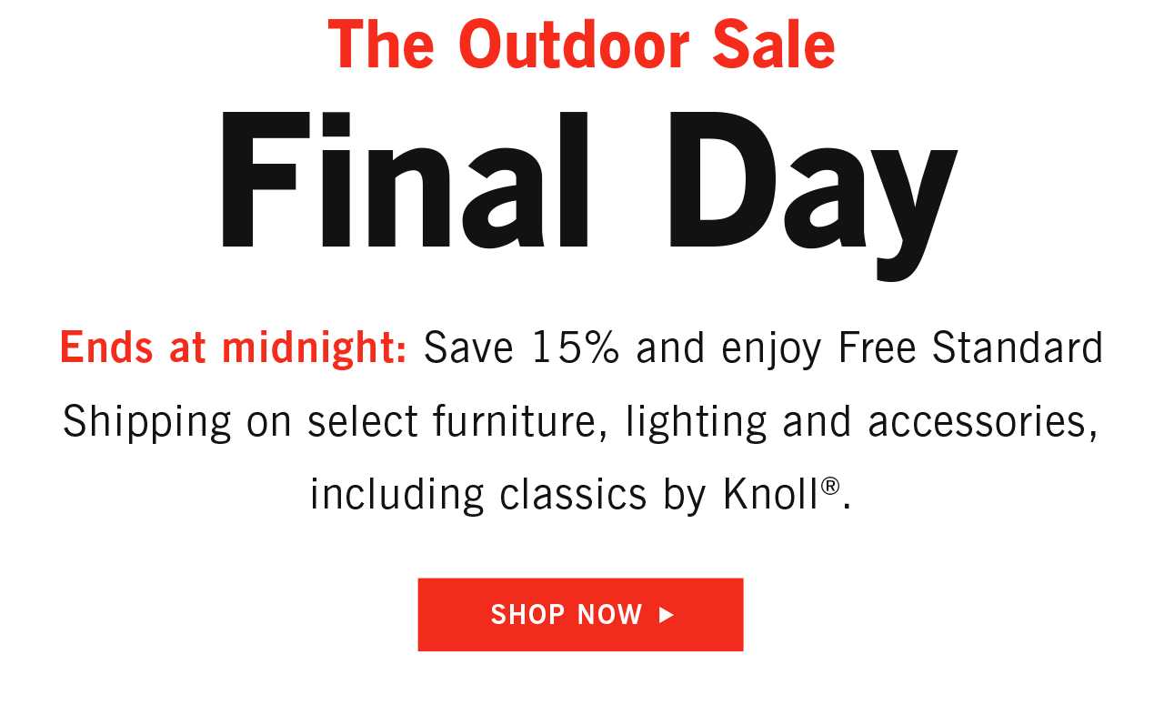 Outdoor Sale Final Day