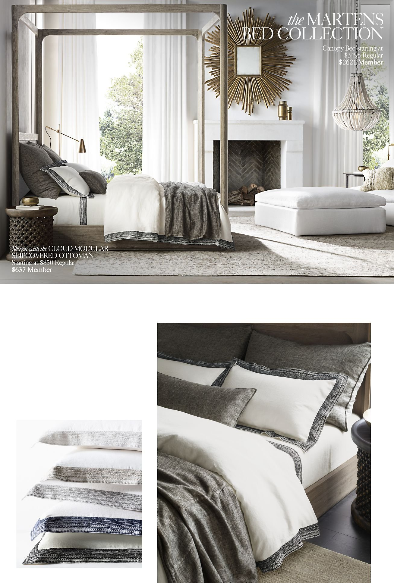 Restoration Hardware The Cloud Modular Collection View