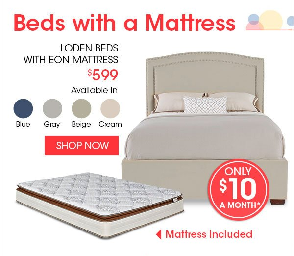 Rooms To Go Mattress >> Rooms To Go Only 10 A Month Buys Mattresses Sleepers Beds Plus