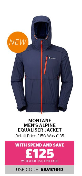 Montane Men's Alpine Equaliser Jacket