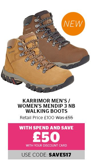 Karrimor Women's Mendip 3 NB Walking Boots