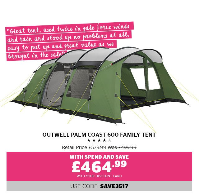 Outwell Palm Coast 600 Family Tent