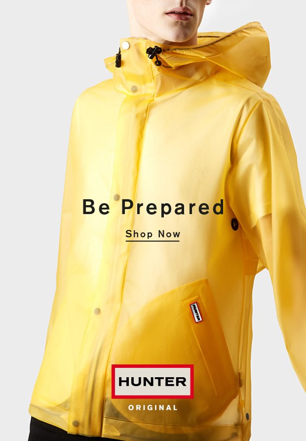 Be Prepared: Shop Now