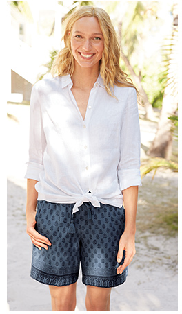J Jill Our Essential Linen Shirt Plus 50 Off 150