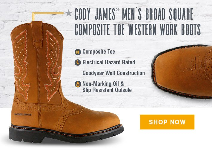 57b6ffbe408 BootBarn.com: Introducing Cody James Work Boots | Milled