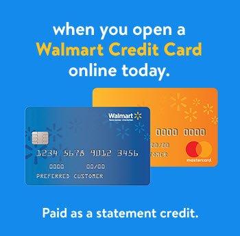 Walmart Credit Card Walmart Com >> Walmart Open A Walmart Credit Card Save Milled