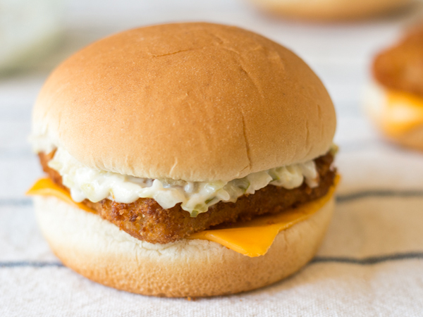Top secret recipes inc making mcdonald 39 s filet o fish for Wendy s fish sandwich 2017
