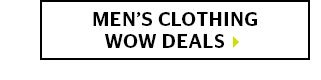 Mens Clothing Wow Deals