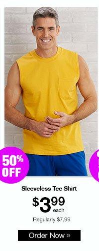 Active Joe Sleeveless Tee Shirt