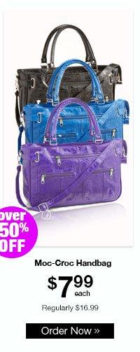 Moc-Croc Handbag