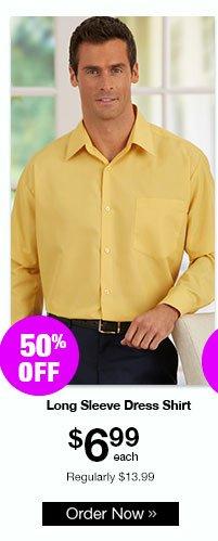 Executive Division Long Sleeve Dress Shirt