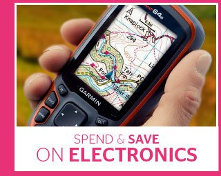 Spend and Save on Electronics