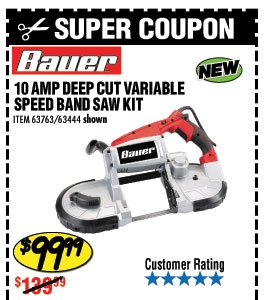 Harbor Freight Portable Band Saw