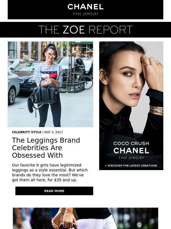 3c9f7cdca14f1 The Zoe Report: The Leggings Brand Celebrities Are Obsessed With   Milled