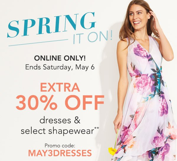 62a59990e66 Bonton  Spring It On with 30% off Dresses   select Shapewear (Online ...