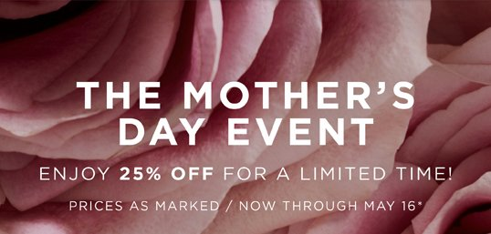 71f17747e901 Michael Kors  THE MOTHER S DAY EVENT  25% Off For A Limited Time ...