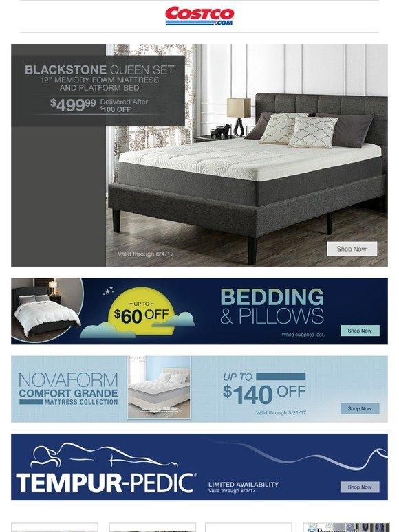 novaform 14 comfort grande queen gel memory foam mattress. costo: sleep well event - instant savings on bedroom furniture, mattresses and bedding. | milled novaform 14 comfort grande queen gel memory foam mattress