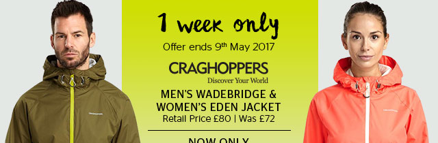 Craghoppers Mens' & Women's Jackets