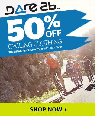 50% Off Dare 2B Cycle Clothing