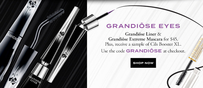 GRANDIÔSE EYES - SHOP NOW