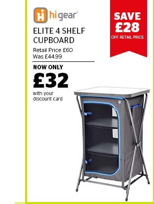 Hi Gear Elite 4 Shelf