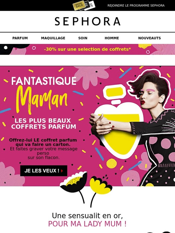Coffrets Fantastique SephoraFantastiques Pour SephoraFantastiques Maman ZiTukXOP