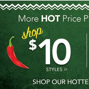 Cinco de Mayo Celebration - Shop Our $10 Deals!