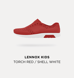 lennox torch. worn with socks or sock-less, the lennox and miles are shock absorbent slip-ons suitable for mini urban olympians! torch