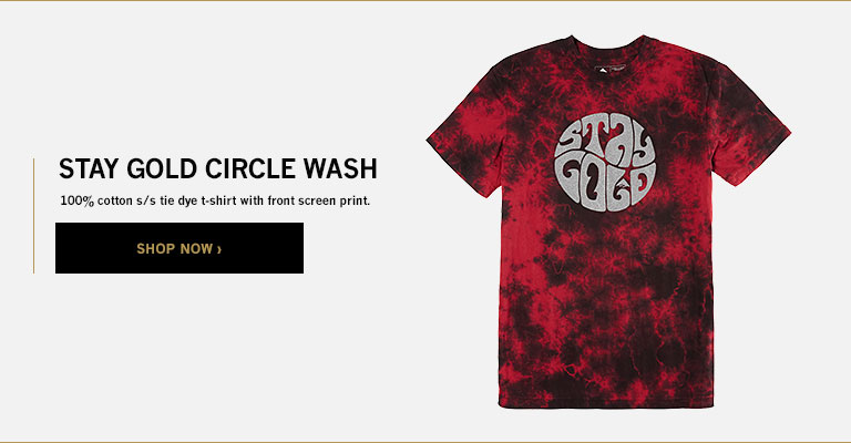 STAY GOLD CIRCLE WASH