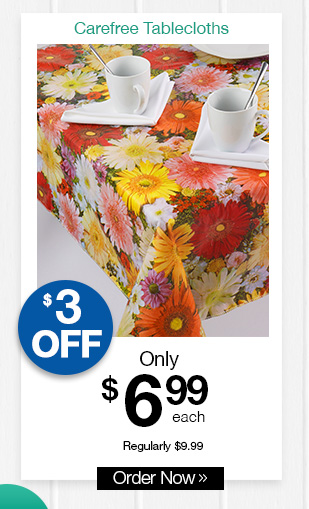Shop Carefree Tablecloths