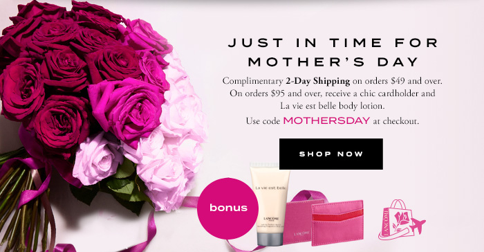 JUST IN TIME FOR MOTHER'S DAY - SHOP NOW