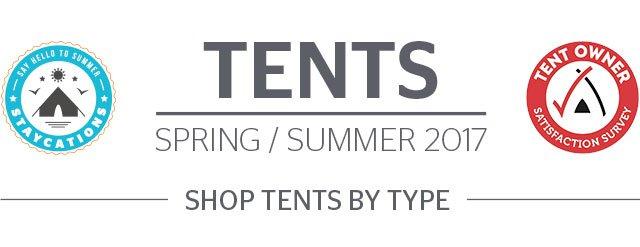 Tents - Spring/Summer 2017