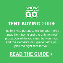 Know Before You GO - tent buying guide