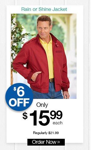 Shop Rain or Shine Jacket