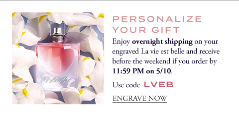 PERSONALIZE YOUR GIFT - ENGRAVE NOW