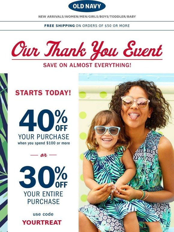 Dec 04,  · Old Navy offers free shipping on all orders over $50 & free returns on all of your online purchases. How to Redeem a Coupon Code at Old Navy. After adding your selected clothing trends to the online 'shopping bag,' you will redeem an Old Navy coupon code .