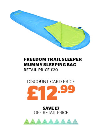 Freedom Trail Sleeper Mummy Sleeping Bag
